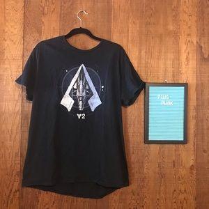 Lootcrate Destiny Black T-shirt Lootwear XL